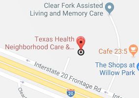 Aledo / Willow Office Map